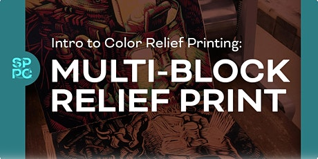 Color Relief printing MULTIBLOCK W/ Reinaldo Gil Zambrano tickets
