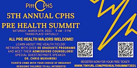 5th Annual Pitt Pre-Health Summit tickets