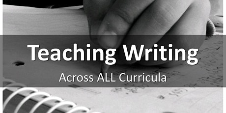 Teaching Writing Across Curricula tickets