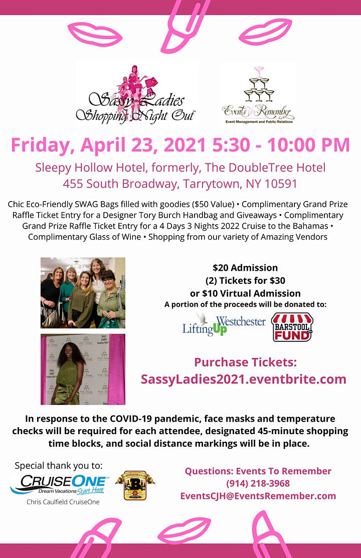 Sassy Ladies Shopping Night Out 2021, Tarrytown, NY image