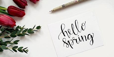 Spring Online Letter Writing Workshop tickets