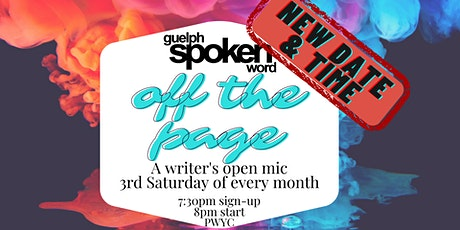Off The Page: A Writer's Open Mic tickets