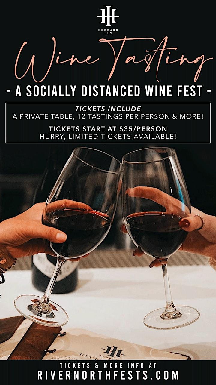 Hubbard Inn Wine Tasting - A Socially Distanced Wine Fest image