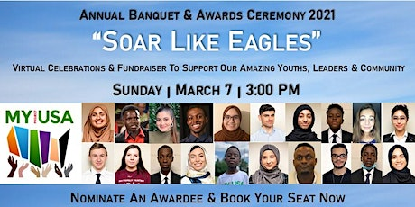 Soar Like Eagles - MY Project USA Annual Banquet & Awards 2021 tickets