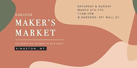 Barnfox Maker's Market tickets
