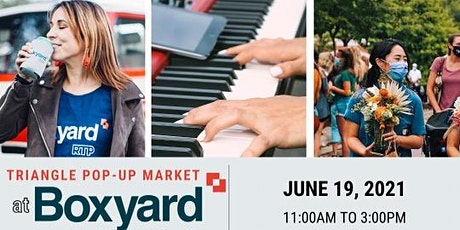 Triangle Pop-Up Market at Boxyard RTP tickets
