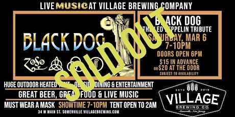 Black Dog: The Led Zeppelin Tribute @ Village Brewing Company tickets