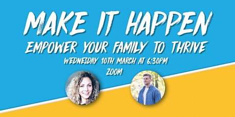 Empower Your Family to Thrive LIVE Webinar tickets
