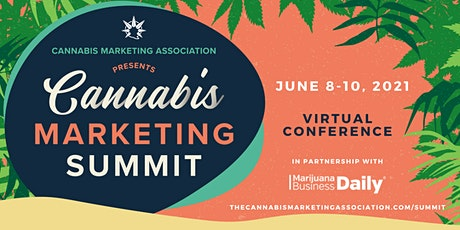 Cannabis Marketing Summit— Virtual Conference (June 8-10) tickets