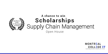 Supply Chain Management - Chance to win a Scholarship tickets