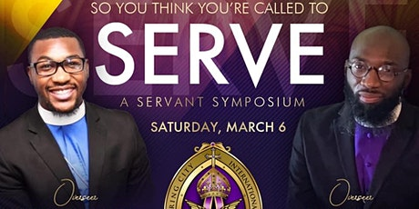 So You Think You're Called To Serve tickets