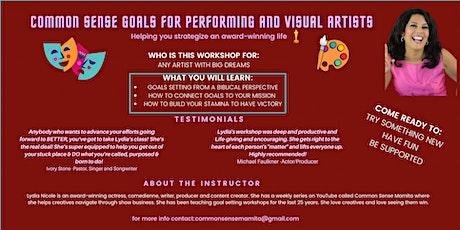 Common Sense Goals For Creative Professionals tickets
