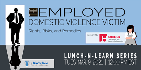 The Employed Domestic Violence Victim: Rights, Risks, and Remedies tickets