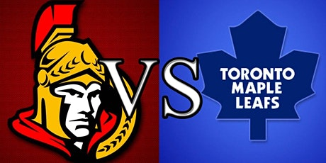LIVE@!!..@ Ottawa Senators v Toronto Maple Leafs LIVE ON NHL 2021 tickets