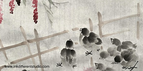Relax With Chinese Painting - Ink It Differently tickets
