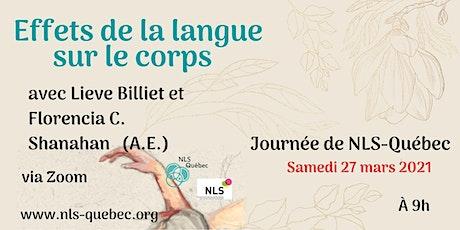 8e Journée d'Étude de NLS-Québec. billets