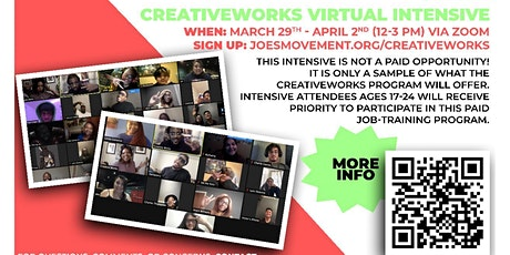 CreativeWorks Virtual Intensive tickets