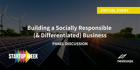 Building a Socially Responsible (& Differentiated) Business tickets