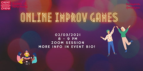 Online Improv Games tickets