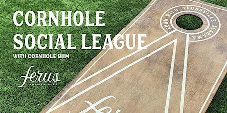 Cornhole social league tickets