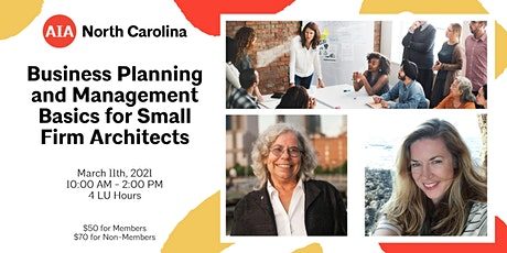 Workshop: Business Planning and Management Basics for Small Firm Architects tickets