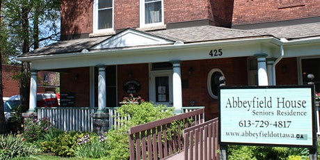 Virtual Tea and Tour of Abbeyfield House Ottawa tickets