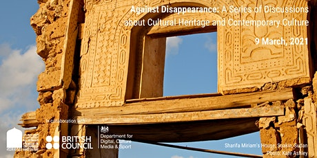 Against Disappearance: A discussion about trade and culture. tickets