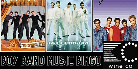 Boy Band Music Bingo at KC Wine Co tickets