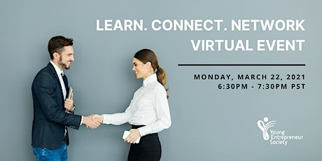 Virtual networking for young entrepreneurs and business owners tickets