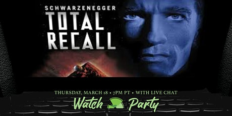 Total Recall Netflix Watch Party & Chat tickets
