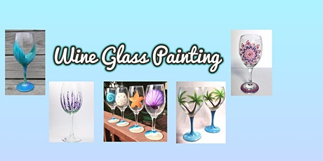 Wine Glass Painting at Sliders Oyster Bar tickets