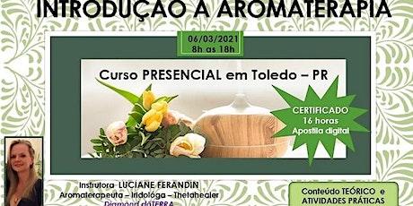 Curso básico de Aromaterapia - PRESENCIAL 16h ingressos