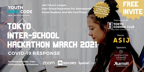 Youth Who Code Japan x Tokyo Coding Club Inter-School Hackathon 2021 tickets