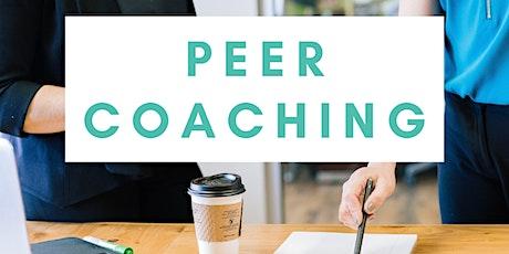 1-1 Peer Coaching Exchange tickets