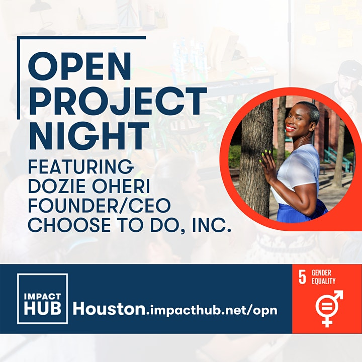Open Project Night: Achieving Gender Equality in Houston and Beyond image