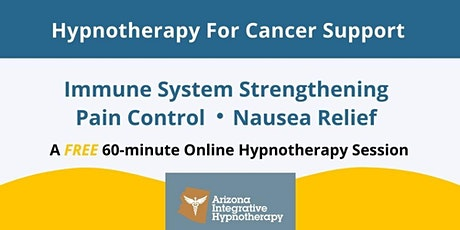 Hypnotherapy for Cancer Support tickets
