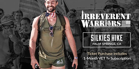 Irreverent Warriors Silkies Hike- Palm Springs, CA tickets