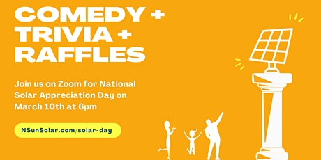 National Solar Appreciation Day Event tickets
