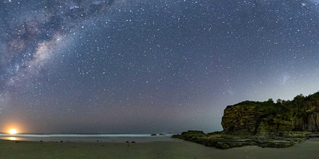 Learn Astro photography Caves Beach tickets