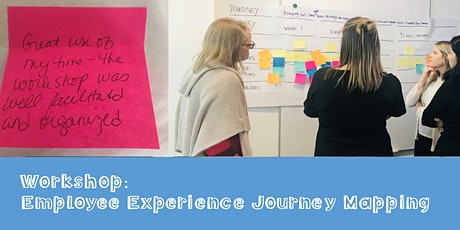 Virtual Workshop: Employee Experience Journey Mapping tickets