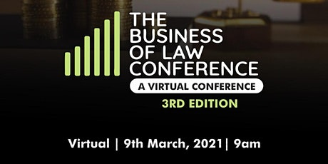 The Business of Law Conference 2021 tickets