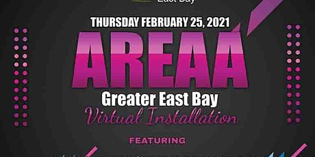 AREAA '21 Greater East Bay Virtual Installation tickets