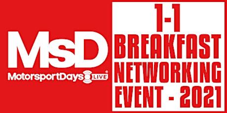 MsD LIVE - 1-1 Breakfast Networking MARCH tickets
