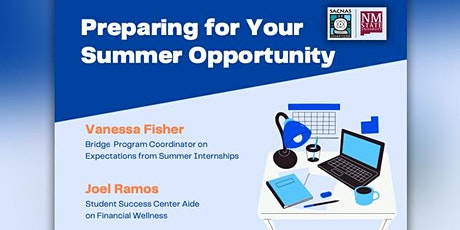 Preparing for Your Summer Opportunity tickets
