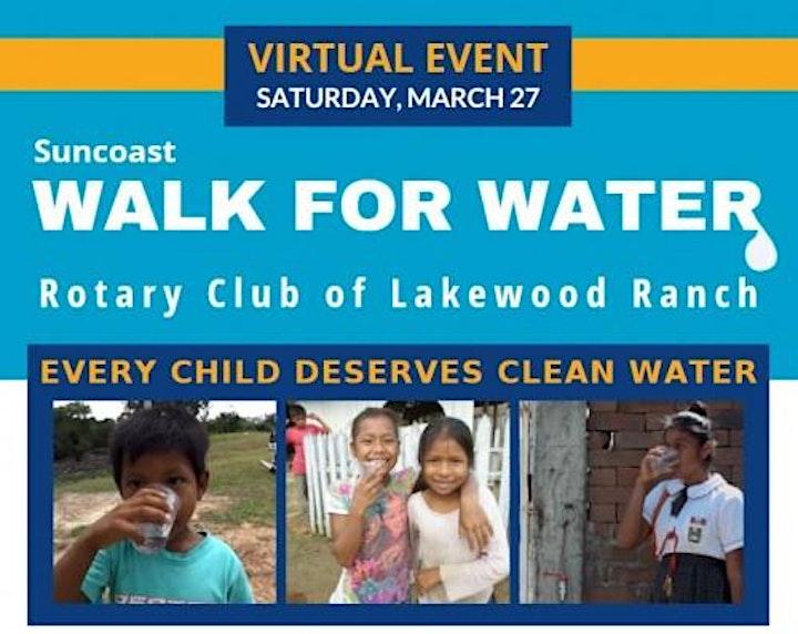 Virtual Suncoast Walk For Water image