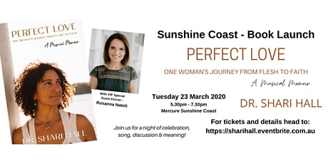 Perfect Love by Dr Shari Hall - Sunshine Coast Book Launch tickets
