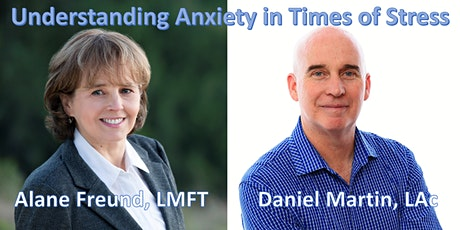 Managing Anxiety and Stress tickets