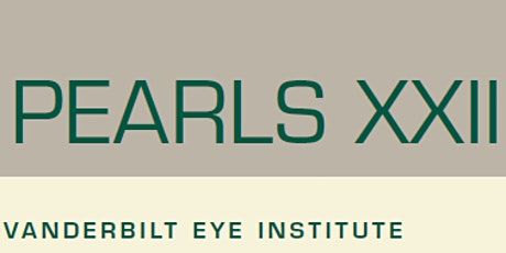 2021 Comprehensive Ophthalmology Pearls XXII tickets