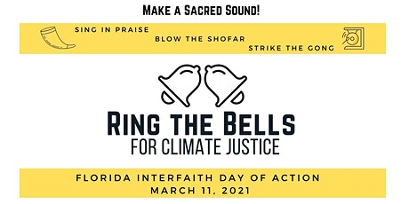 """""""Ring the Bells for Climate Justice"""" Online Event & Action tickets"""