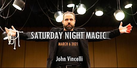 Saturday Night Magic tickets
